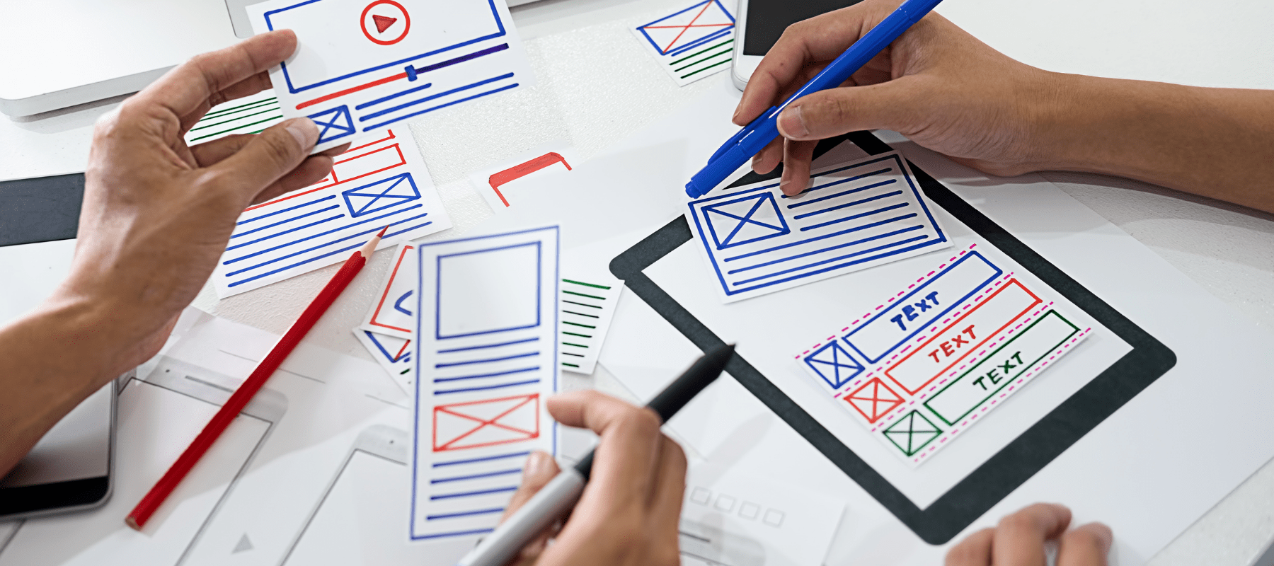 realizando el diseño de una web con un framework